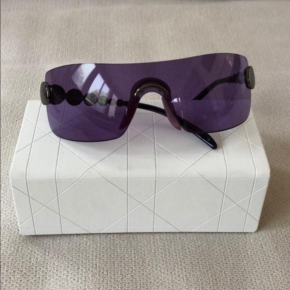 53cb42abb17e Dior Accessories - DIOR Purple Shield Sunglasses